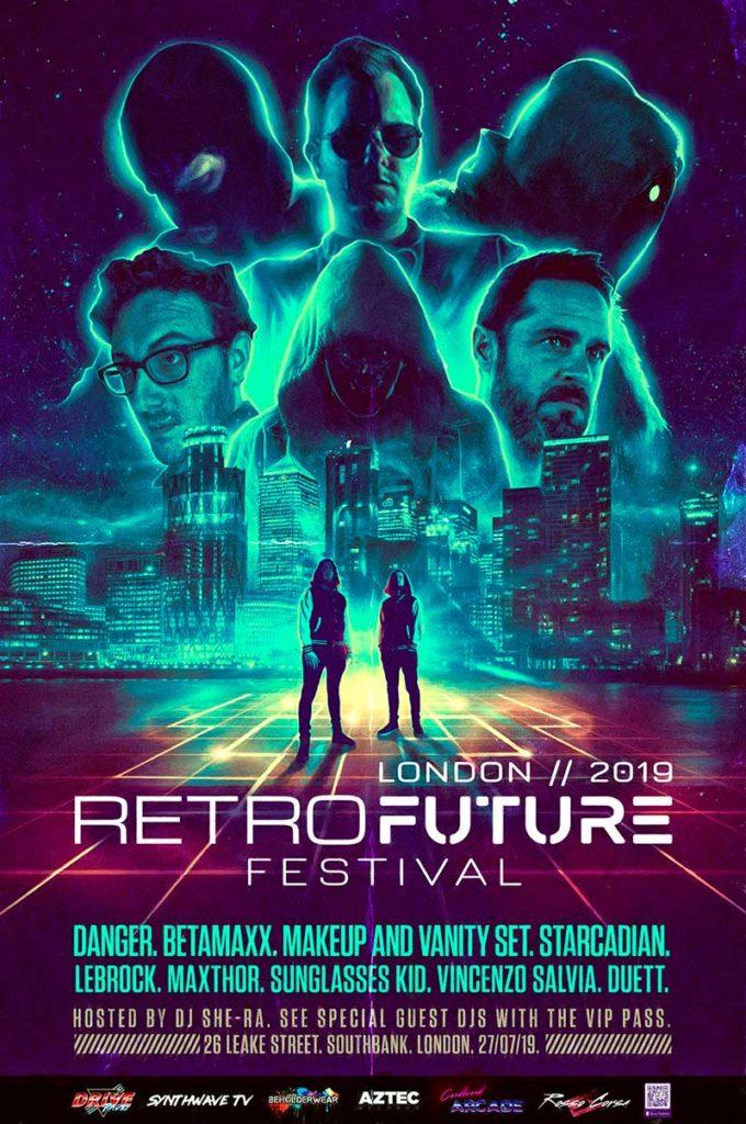 retro future festival iii full poster sm