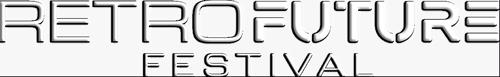 retro future festival logo
