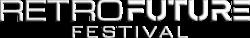 retro future festival logo retina